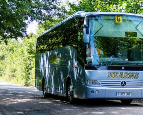 coach hire for schools